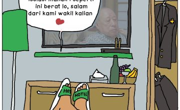 Isoman Khusus Wakil Rakyat