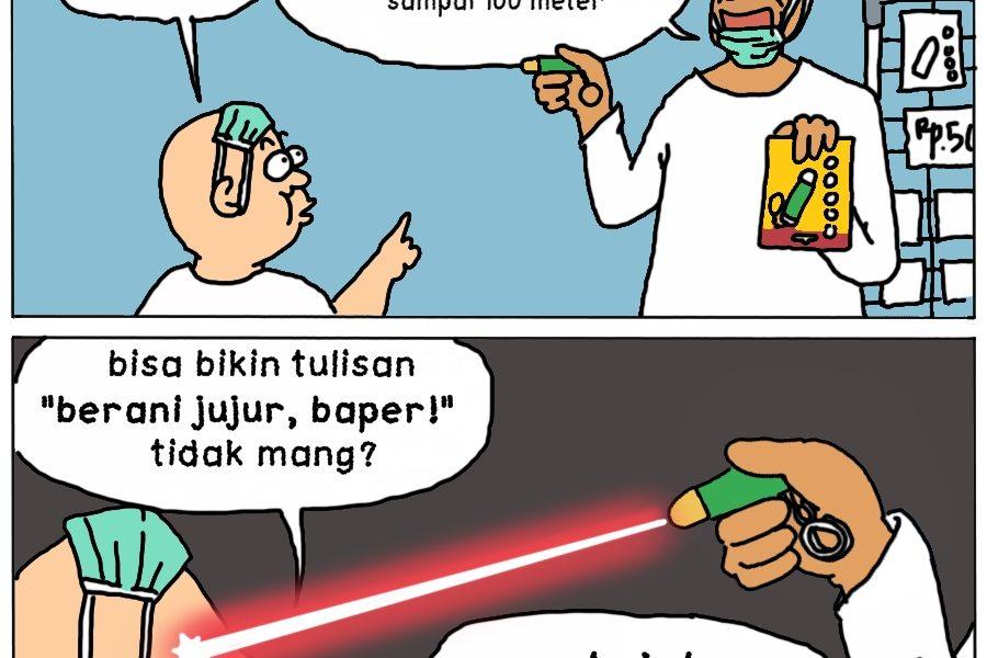 Laser Berani Jujur