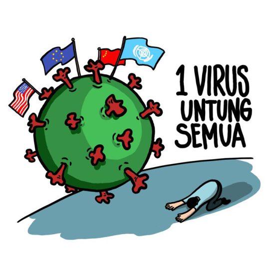 satu virus untung semua